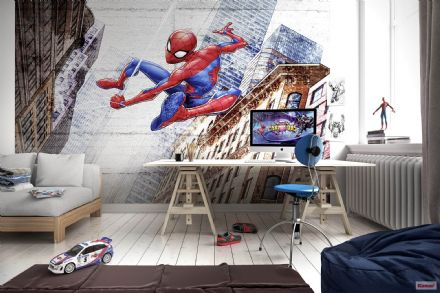 Feature wall wallpaper Spider-man Marvel